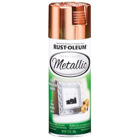 home depot spray paint prices shop rust oleum 11 oz metallic copper spray paint at lowes