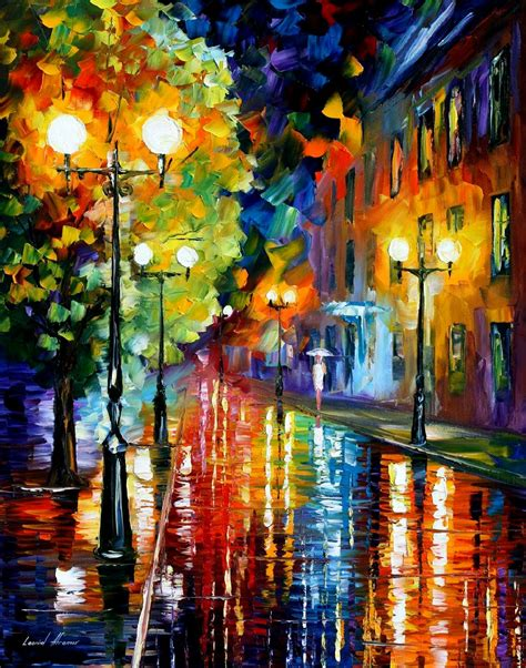 Mysterious 2 Palette Knife Painting On Canvas