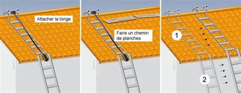 comment utiliser une 233 chelle de toit en toute s 233 curit 233