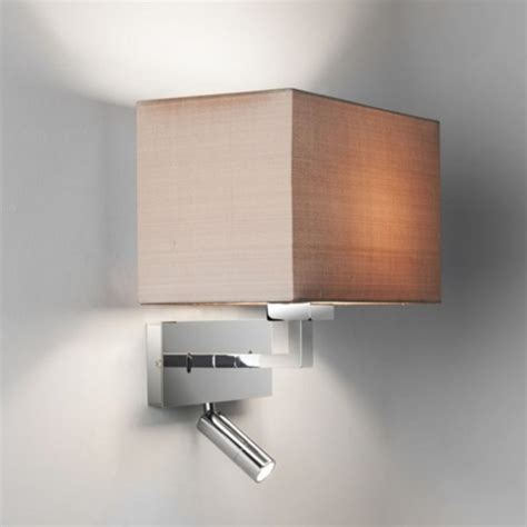 bedroom wall reading light contemporary design hotel style wall light integral led
