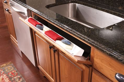kitchen sink tray new initiatives from merillat show homeowners how to