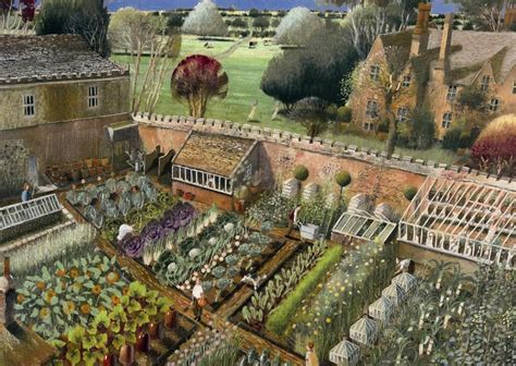 history of vegetable gardening kitchen gardens demonstrate just how productive