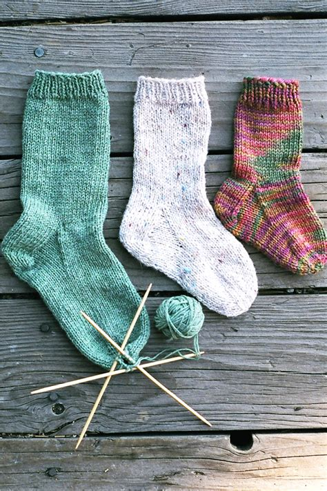 knitted sock patterns easy 203 easy children s sock knitting and simple