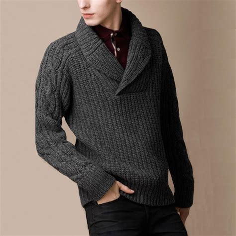 how to knit collar on sweater 1000 ideas about mens shawl collar sweater on