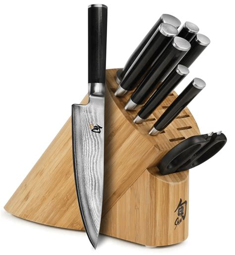 what is the best set of kitchen knives the 3 best shun knife sets from japan with
