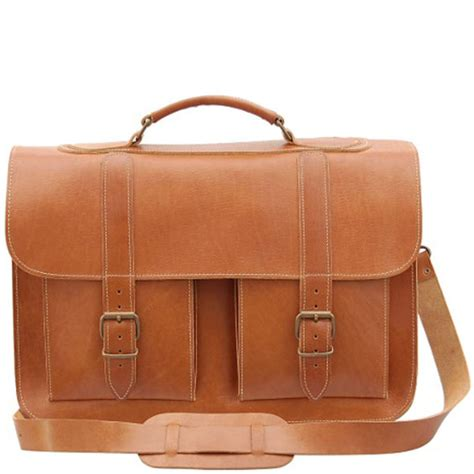 classic leather briefcase grafea timeless classic leather briefcase caramel