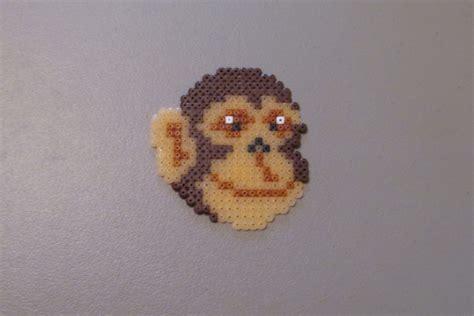 the bead monkey perler bead monkey diy