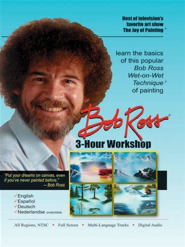 bob ross painting asmr bob ross the of painting 3 hour workshop new sealed