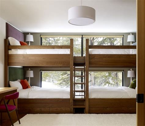 awesome bunk beds for large bed for four