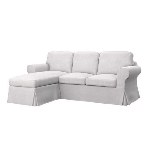 ikea ektorp 2 seat sofa with chaise longue cover ikea sofa covers soferia