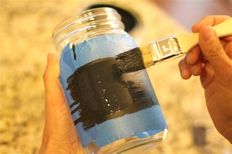 chalkboard paint on glass easy crafts chalkboard paint jars for back to