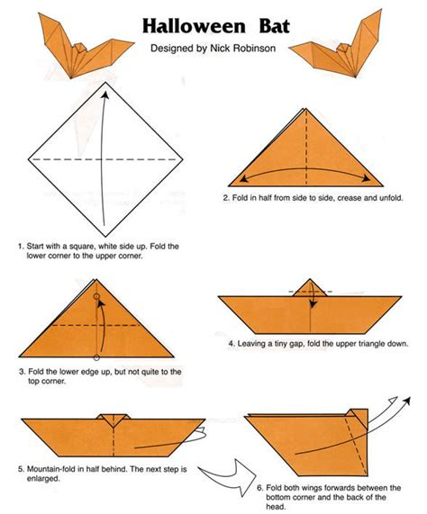 easy bat origami welcome to dover publications
