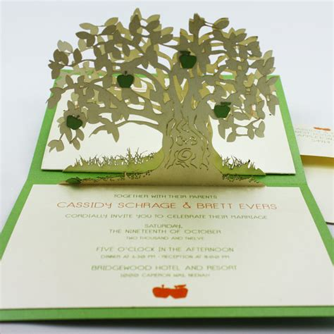 how to make a tree card pop up cards apple tree