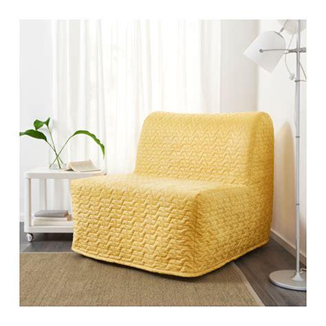 ikea lovas sofa bed lycksele l 214 v 197 s chair bed vallarum yellow ikea