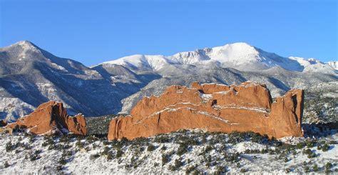 Garden Of The Gods Winter Venture Grants Sociology Colorado College