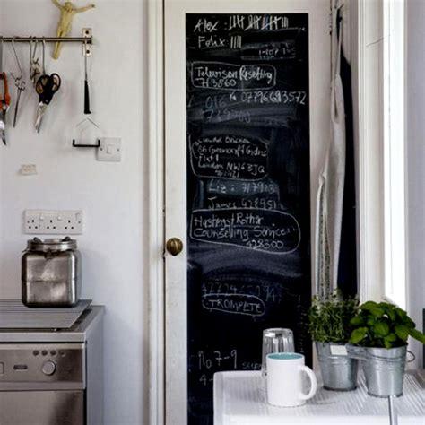 painting chalkboard kitchen blackboard walls the style files