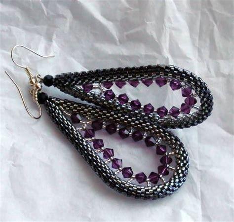 beaded bead tutorial beautiful beaded earrings tutorials the beading gem s