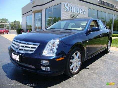 2007 Cadillac Sts 4 by 2007 Cadillac Sts 4 V6 Awd In Blue Chip Photo 6 167078