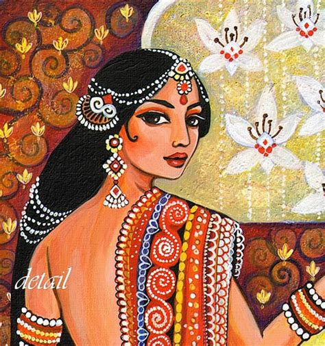 indian painting pics indian goddess traditional indian painting by