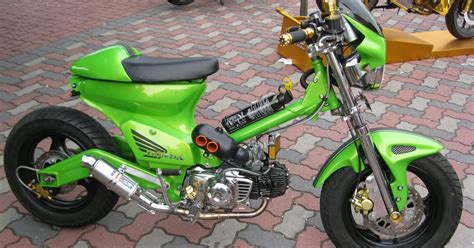 Oto Trend Modifikasi Motor by Gambar Foto Modifikasi Motor Honda C70 Oto Trendz