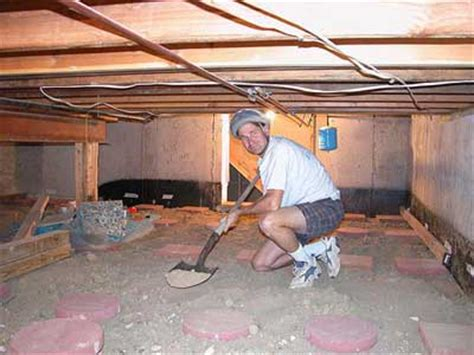 how to out a basement alek s digging out my basement crawl space