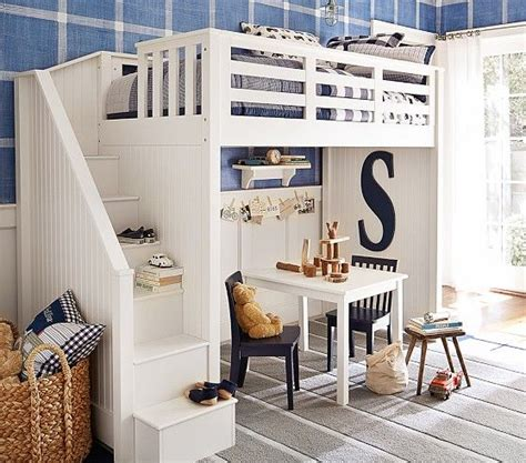 pottery barn loft bed with desk stair loft bed pottery barn amazing