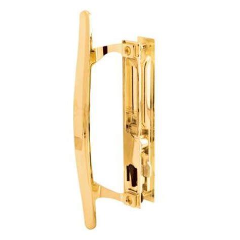 patio door handle home depot prime line brass plated flush mounted sliding patio door