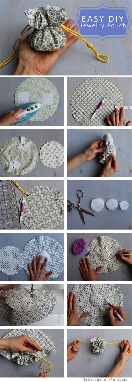 how to make a jewelry pouch diy make a drawstring jewelry pouch haberdashery