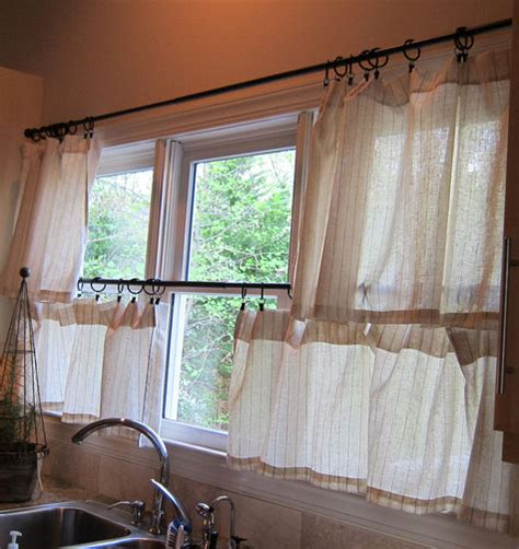 cafe curtains kitchen kitchen cafe curtains sewing projects burdastyle