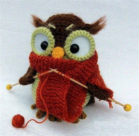 knitting patterns for owls knitting owl knit and crochet