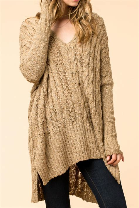 oversized cable knit cardigan hyfve oversized cable knit sweater from branford by