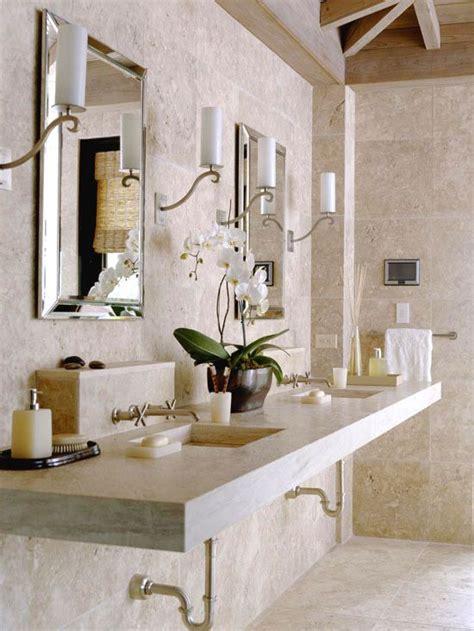 Spa Like Bathroom Vanities by Bathroom Vanities Travertine Spas And Vanities