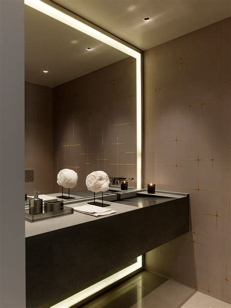 bathroom mirrors with lighting how to a modern bathroom mirror with lights