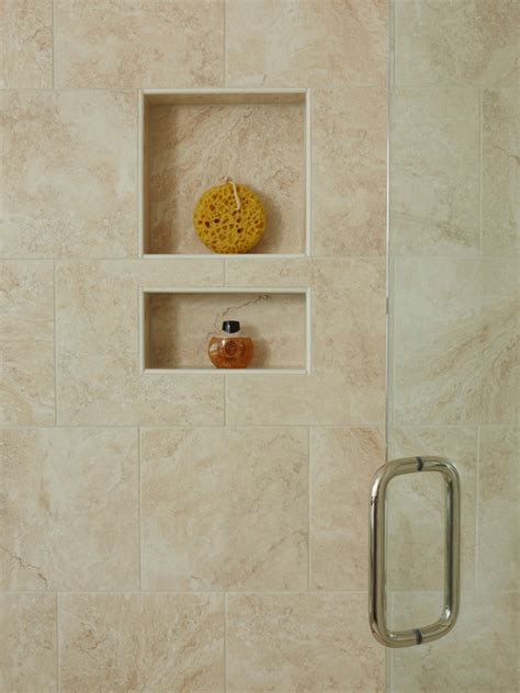 recessed shelves in bathroom recessed shelves home is where the is
