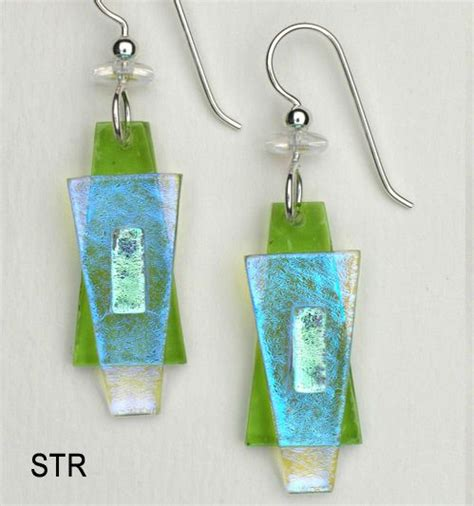 how to make fused glass jewelry fused glass earrings fused glass