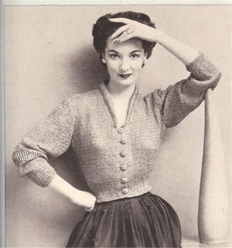 vintage knits vintage knitting patterns crochet and knit