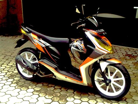 Gambar Modifikasi Motor Honda Beat by Gambar Modifikasi Motor Honda Beat Karbu
