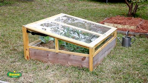 raised bed frame how to build a raised bed cold frame bonnie plants