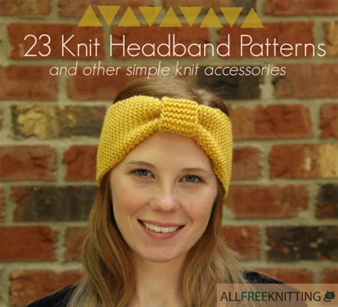 how to make a headband with a knitting loom 23 knit headband patterns and other simple knit