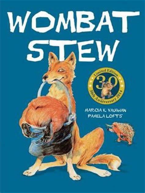 wombat picture book wombat stew marcia vaughan 9781743621837
