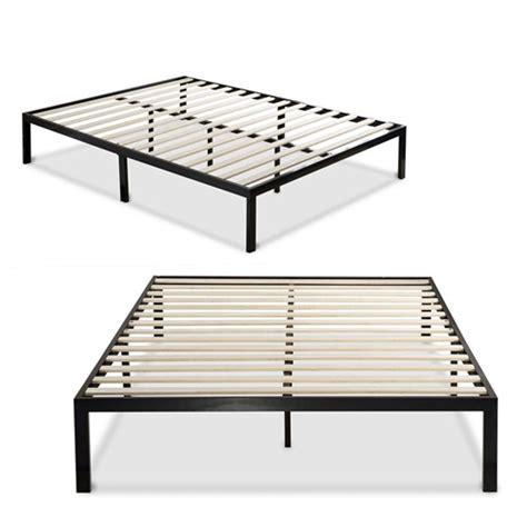 king size metal platform bed frame king size modern black metal platform bed frame with