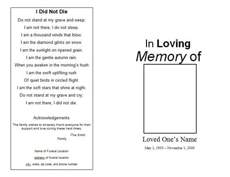 make your own memorial cards free 301 moved permanently
