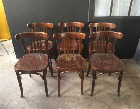 lot 38 chaises bistrot