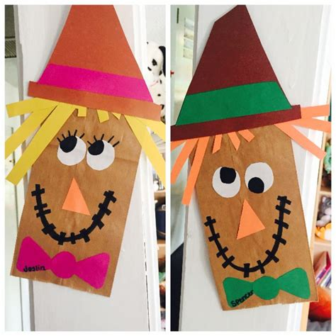 november crafts best 25 scarecrow crafts ideas on fall kid
