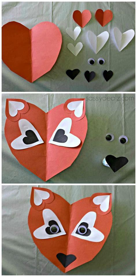 fox craft for fox crafts idea for preschool and kindergarten