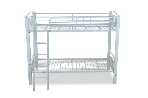 barcelona white bunk bed barcelona bunk bed visco therapy