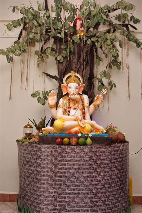 eco decorations eco friendly ganesh and decoration on
