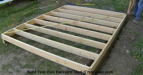 how to frame a floor shed plans how to build a shed icreatables
