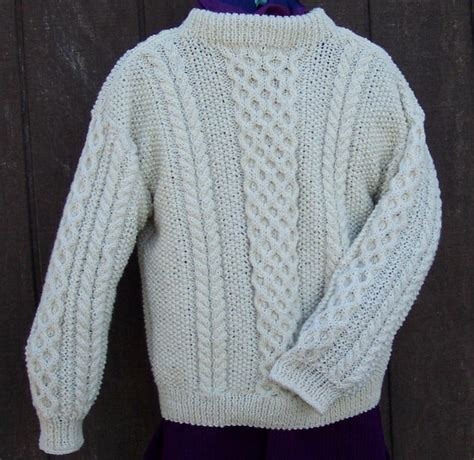 knit a sweater aran knitting for beginners