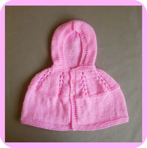 yfwd knitting marianna s lazy days carla hooded baby cape